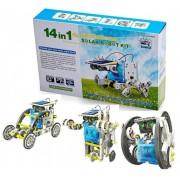Конструктор робот трансформер Solar Robot kit 14 моделей на солнечной энергии Pro (dm660)