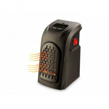 Термовентилятор портативный обогреватель Rovus Handy Heater регулятор термостата Керамический Black Pro (dm775)