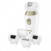 Женский эпилятор Gemei GM 7005 5 в 1 для лица и тела чувствительных зон Pro (dm894)