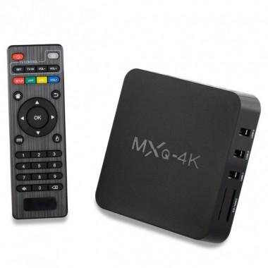 ТВ приставка смарт медиаплеер MXQ SMART TV MXQ 4k 1/8 GB WIFI Plus (dm689)