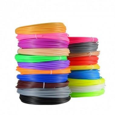 Пластик для 3D ручки PLA 10 цветов 100 метров Экологический без запахов Pro (dm502)