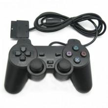 Проводной джойстик KSP геймпад Sony PS3 PS2 Black Pro (dm627)