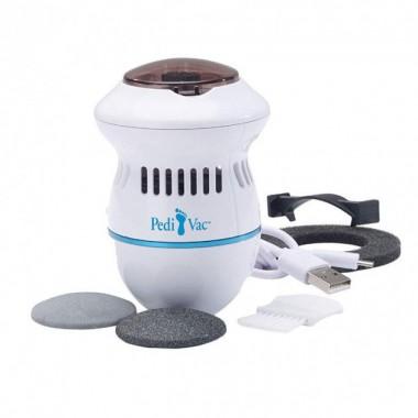 Машинка для педикюра электрическая пемза для ног Pedi Vac для удаления мозолей Pro (dm860)