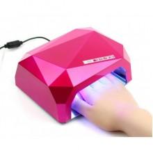 Лампа для ногтей Уфо Diamond S 36W Кристалл Pink Pro (dm824)