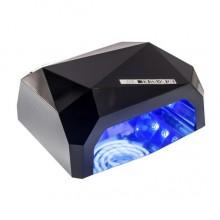 Лампа для ногтей Уфо Diamond S 36W Кристалл Black Pro (dm822)