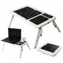 Столик для ноутбука Etable охлаждение регулировка угла высоты ножек Pro (dm343)