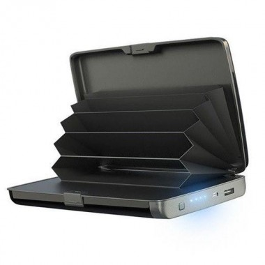Power Bank кошелек зарядное устройство E-charge Wallet Plus (dm350)
