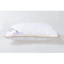 Подушка із вовни мериносів біла класична розмір 40х60