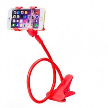 Держатель для телефона планшета KSP гибкий монопод Red Plus (dm812)