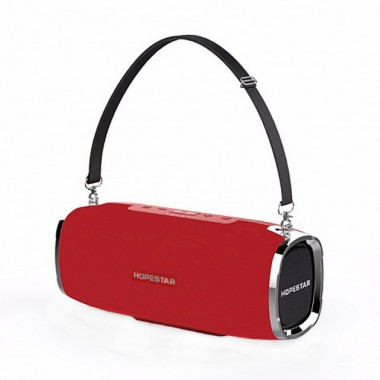 Акустическая система портативная колонка Hopestar A6 Sound System 3 динамика Power Bank Red Plus (dm532)