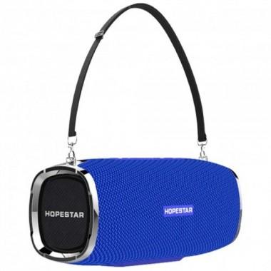 Портативная колонка акустическая система Hopestar A6 Sound System 3 динамика Power Bank Blue Plus (dm531)