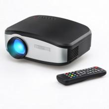 Портативный мультимедийный проектор цифровой Cheerlux C6 разъем TV HDMI VGA AV USB Pro (dm614)