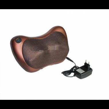 Массажная роликовая подушка инфракрасный массажер MASSAGE PILLOW для спины и шеи подушка Pro (dm380)