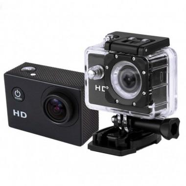 Видеокамера Экшн камера Action Camera D600 с боксом и креплениями Plus (dm221)