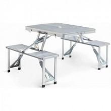 Туристический складной стол трансформер для пикника KSP на дюралюминиевой основеPro (dm797)