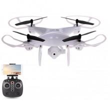Квадрокоптер дрон з камерою Drone Sky LH-X25 HD Wi-Fi White Pro (dm334)