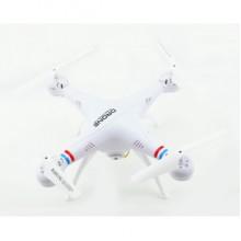 Квадрокоптер дрон з камерою One Million WiFi переворот 360 White Pro (dm336)