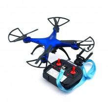 Квадрокоптер дрон з камерою One Million WiFi переворот 360 Blue Pro (dm338)