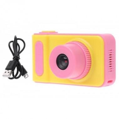 Детский фотоаппарат цифровой DVR Baby Camera V7S ударопрочный Pink Pro (dm269)