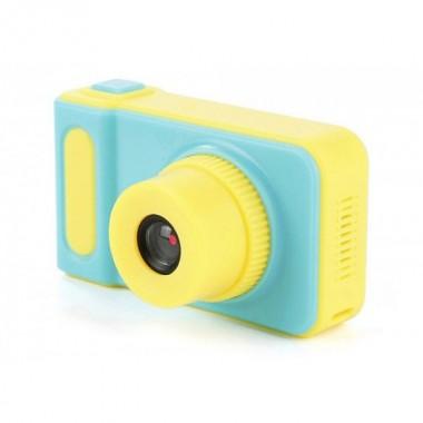 Детский фотоаппарат цифровой DVR Baby Camera V7S ударопрочный Blue Pro (dm268)