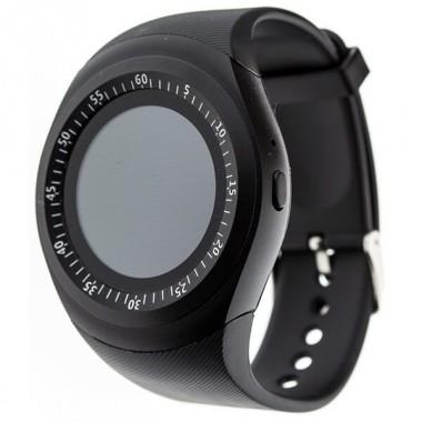 Смарт часы наручные Smart Watch Y1 универсальный стиль Black Plus (dm731)