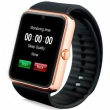 Смарт часы наручные Smart Watch Q7SP ударопрочные Gold Plus (dm720)