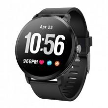 Смарт часы наручные Smart Life v11 фитнес трекер Black Plus (dm835)
