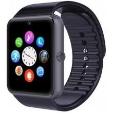 Смарт часы наручные Smart Watch GT-08 с динамиками Black Pro (dm702)