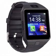 Смарт часы наручные Smart Watch DZ09 фитнес трекер Black Pro (dm697)