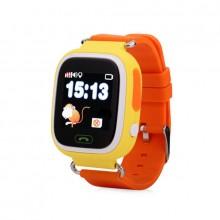 Смарт часы наручные детские Smart Watch Q90 GPS Yellow Pro (dm723)