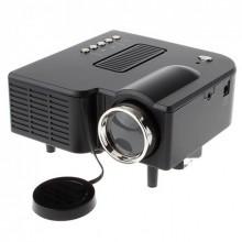 Портативный мультимедийный проектор мини UNIC 28 с динамиком Black Pro (dm402)