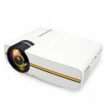 Портативный мультимедийный проектор цифровой KSP Projector YG400 Led с динамиком Pro (dm629)