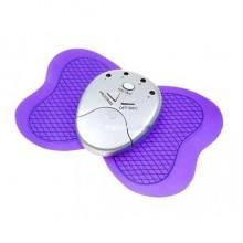 Массажер для тела бабочка Butterfly Fit Plus электростимулятор мышц фитнес Фиолетовый Pro (dm890)