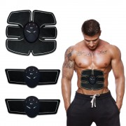 Массажный пояс миостимулятор для накачивания пресса рук спины Smart Fitness EMS Fit Boot Toning для бедер ягодиц Pro (dm403)
