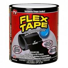 Водонепроницаемая лента KSP Flex Tape Black универсальная ремонтная лента 10 cм x 150 cм скотч Pro (dm232)