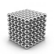Головоломка KSP Neocube Неокуб 216 шариков Silver 5мм Pro (dm344)