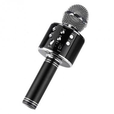 Беспроводной микрофон караоке MicGeek WS-858A Black Bluetooth Plus (dm167)