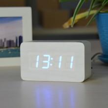 Часы настольные электронные VST 863-5 будильник термометр White Pro (dm888)