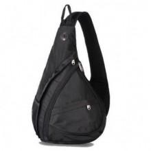 Рюкзак универсальный городской Swiss Bag Small для велотуристов Black Pro (dm815)
