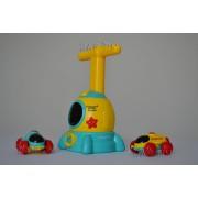 Іграшка автомобіль з повітряною кулею Rocket Car Air Жовтий BALLOON Original