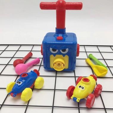 Игровой набор машинок с воздушным шаром BALLOON CAR Plus Blue