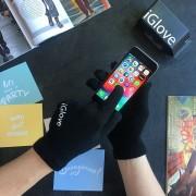 Рукавички iGlove сенсорні зимові чорні Original (20211000)