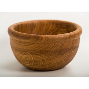 Тарелка посуда деревянная 18х7,5 см Eripro Lettuce для дома пикника HoReCa Original (20201018)