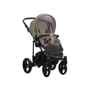 Дитяча коляска універсальна 2 в 1 Aroteam BARTOLO PRIMA екошкіра Капучино Original